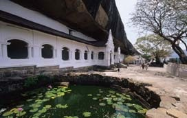 The Rock Cave Temple, Dambulla