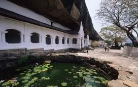 The Rock Cave Temple, Dambulla